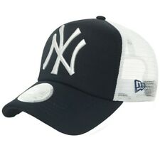 New Era NY New York Yankees Trucker Baseball Cap Noir/Blanc-Taille Unique