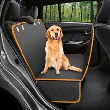"New listing Dog Cat Pet Animal Back Seat Cover Hammock Bench Black Orange 54x58"" Travel New"