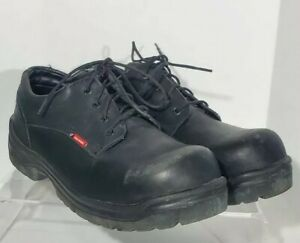RED WINGS Work Shoes King Toe Oxford Black Electrical Hazard Safety Toe  11.5 D