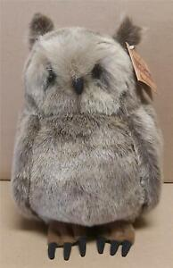 "Lou Rankin Friends Brown Fish Owl ""Winston"" Plush Doll New With Tags Dakin"