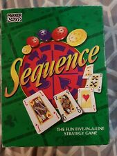 SEQUENCE by PARKER - THE FUN FIVE IN A LINE STRATEGY GAME