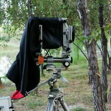 Dark Cloth Focusing Hood For 4X5 Large Format Camera (Black) Wrapping 55x45cm