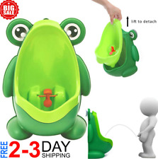 Cute Frog Shape Children Kids Potty Training Urinal for Boys Removable Toilet P