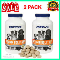 Dog Multi Vitamins For All Life Stages Health Care Chewable Tablets 180 Count