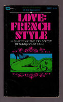 Love French Style, Victor Rossi vintage 1969 erotica GGA sleaze NM