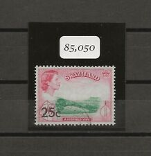 "SWAZILAND 1961 SG 74b ""Type II"" USED Cat £850 . CERT"