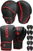 RDX Boxing Pads Focus Mitts Muay Thai Gloves Kickboxing MMA Punching Training