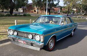 1970 Ford Futura XW sedan opal glo