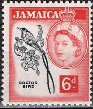 Jamaica Fauna Doctor Bird stamp 1962 MLH