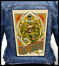 RISE AGAINST  --- Giant Backpatch Back Patch