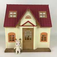 Calico Critters Cozy Cottage House Playset Bell Hopscotch Rabbit Furniture Epoch
