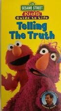 Sesame Street Kids Guide to Life:Telling the Truth VHS 1997-TESTED-RARE-SHIP N24