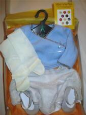 AMERICAN GIRL MIB OUTFIT COMPLETE 5 PIECES SWEATER SKIRT TIGHTS SHOES GRIN PINS
