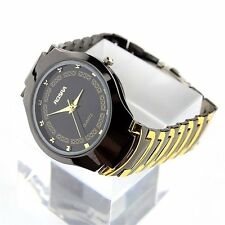 Mens Fashion Stainless Steel Band Luxury Sport Quartz Analog Wrist Watch Watches
