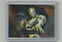 SILVER SURFER 1995 FLAIR MARVEL ANNUAL POWER BLAST INSERT CARD #2