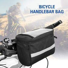 Borsa Grande Manubrio Bicicletta Bici Tasca Navigatore Smartphone Termica