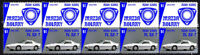 MAZDA AUTO ICONS STRIP OF 10 VIGNETTE STAMPS, MAZDA FC RX7 #4