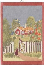 Ekelund Mitt Sverige Swedish Kitchen Towel, NEW