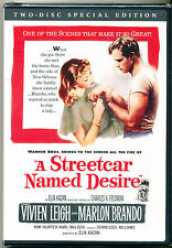 A STREETCAR NAMED DESIRE - DVD - TWO-DISC SPECIAL EDITION - NEW - SHRINK WRAPPED