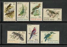 NORFOLK IS. - BIRDS - 7 DIFFERENT - MNH - YRS 1970-1 - CV: $26