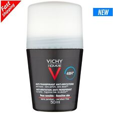 Vichy Homme Roll on 48h. Deodorant  Sensitive Skin Roll-on 50ml