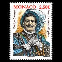 """Monaco 2016 - Opera Singers """"Enrico Caruso"""" - MNH"""