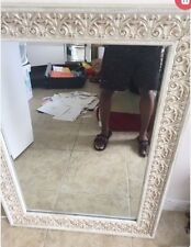 White mirror, in great condition huge discount!!!!