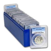 1941-1947 Walking Liberty Half-Dollar 20-Coin Set MS-65 PCGS - SKU#154025