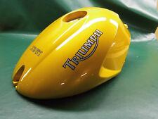 TRIUMPH GAS TANK * Plastic * (int. *) SPEED TRIPLE 1050 * plastica * 05-06 Scorched