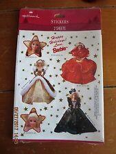 Hallmark Stickers Holiday Barbie