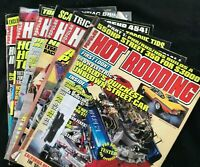 Lot of 6 POPULAR HOT RODDING Magazines - 1995 - 383 Chevy Stroker / Horsepower