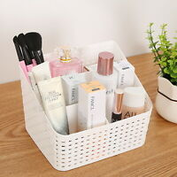 Cosmetic Organiser Makeup Holder Storage Basket Desktop Multi-grid Case Box