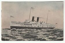 "[63613] 1907 POSTCARD NEW STEAMER ""CAYUGA"" NIAGARA NAVIGATION CO."