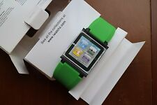 IWATCHZ nano clip system GREEN for ipod nano 6th gen 8GB & 16GB