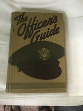 THE OFFICERS GUIDE 9TH EDITION, THE MILITARY SERVICE PUBLISHING CO, 1942