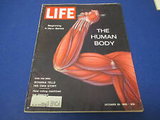 Life Magazine , October 26,1962, Beginning A New Series The Human Body