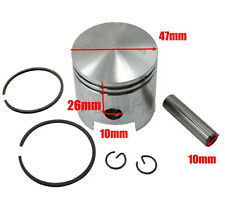 49cc 66cc 80cc 2 Stroke Motorised Motorized Push Bike Bicycle Piston + Ring Kit