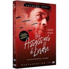 "DVD ""Les Assassins de l'ordre"" Jacques Brel, Catherine Rouvel, NEUF SOUS BLISTER"