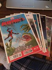 Deadpool Volume 4 #1-6 Full Set Run Lot Comics Marvel Now Duggan Posehn Moore NM