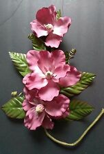 "24"" Magnolia wall decoration, silk flower floral arrangements, home office hotel"