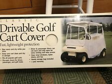 New Classic Drivable Golf cart cover Stay Dry & Warm, Zips open, bag included