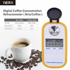 Brix Coffee Sugar Meter Refractometer Digital Portable Electronic Refractometer