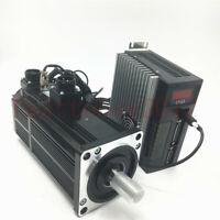 Brake AC Servo Motor 1KW 4NM NEMA32 Drive Amplifier 220V CW/CCW Z Axis Milling