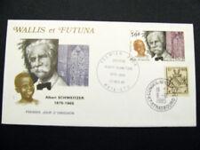 Enveloppe premier jour Wallis et Futuna Albert Schweitzer Conseil  l'Europe 1985