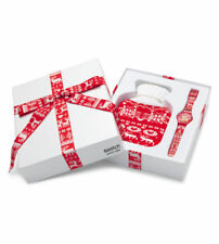 SWATCH+X-MAS-SPECIAL 2013+SUOZ172S RED KNIT+NEU/NEW+LIMITED EDITION