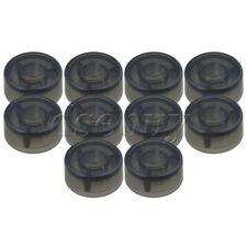 10PCS Black Plastic Protection Cap for Electric Guitar Effect Pedal Knob