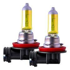 2x H11 55W 12V Aqua Vision Gelb Yellow Halogen Lampen E-Geprüft