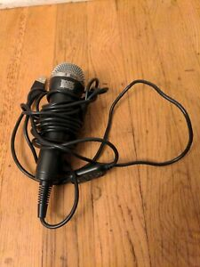 Logitech A-0234A Wired USB Rock Band Microphone Wii Xbox 360 Playstation PS3 PS4