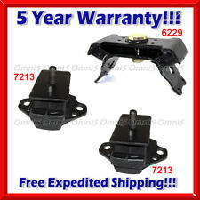 Fits 1996-1998 4Runner 3.4L 4 Wheel Drive 3PC L//R Motor And Transmission Mounts