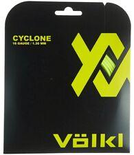 VOLKL CYCLONE TENNIS STRING - 1.30MM 16G - ONE 12M SET - YELLOW - RRP £12